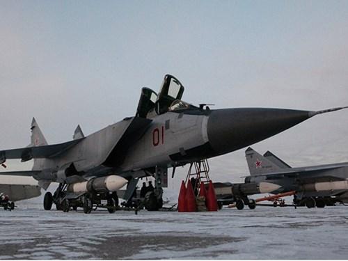Nga liên tiếp tăng cường MiG-31BM cho các trung đoàn không quân