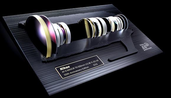 Сувенирный набор линз Nikon AF-S NIKKOR 70-200mm f/2.8E FL ED VR