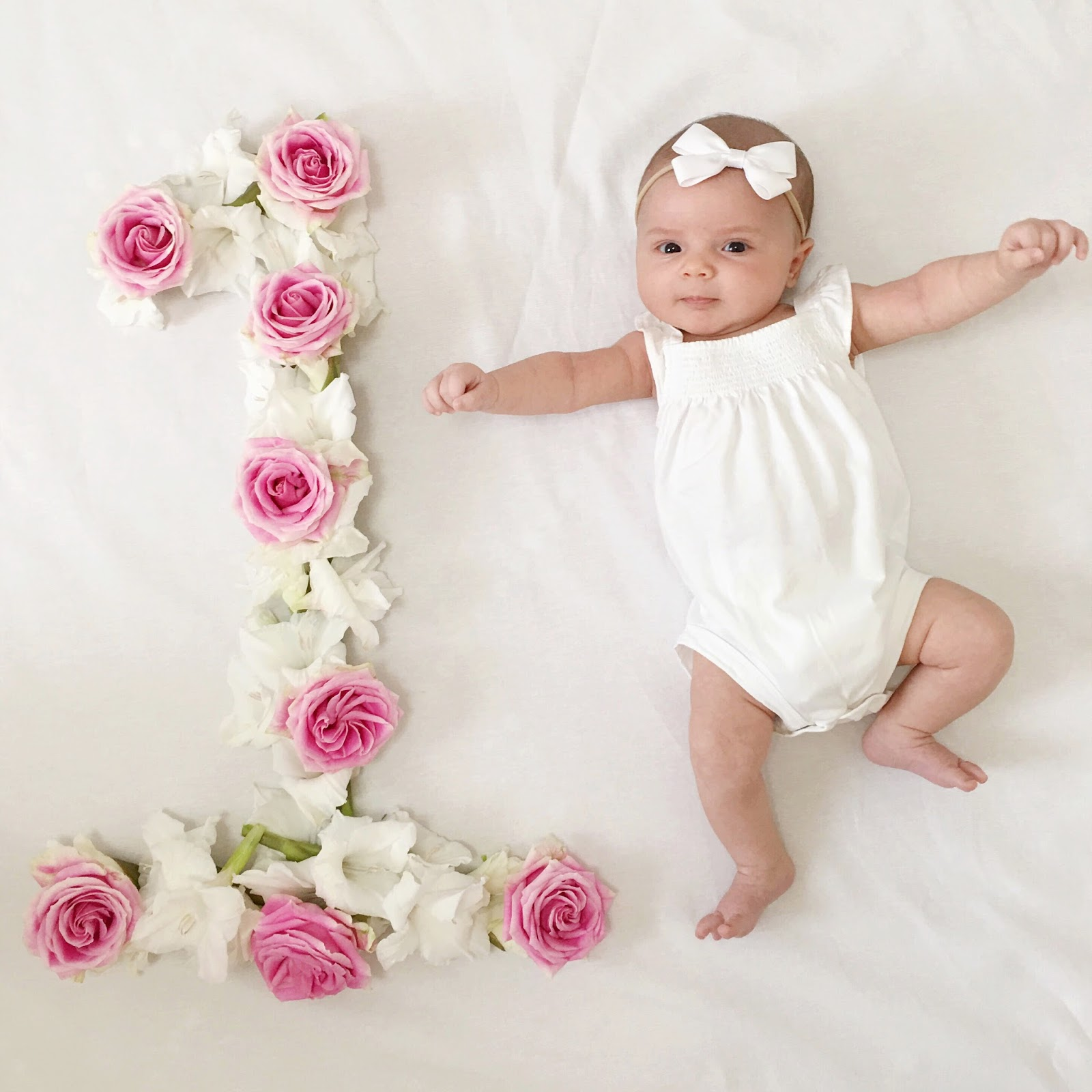 Happy 1 Month Old Baby Girl Quotes: Scottie Rose: 1 Month Old