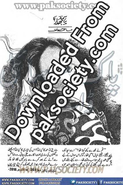 Samjhdar novel by Saiqa Atif Online Reading
