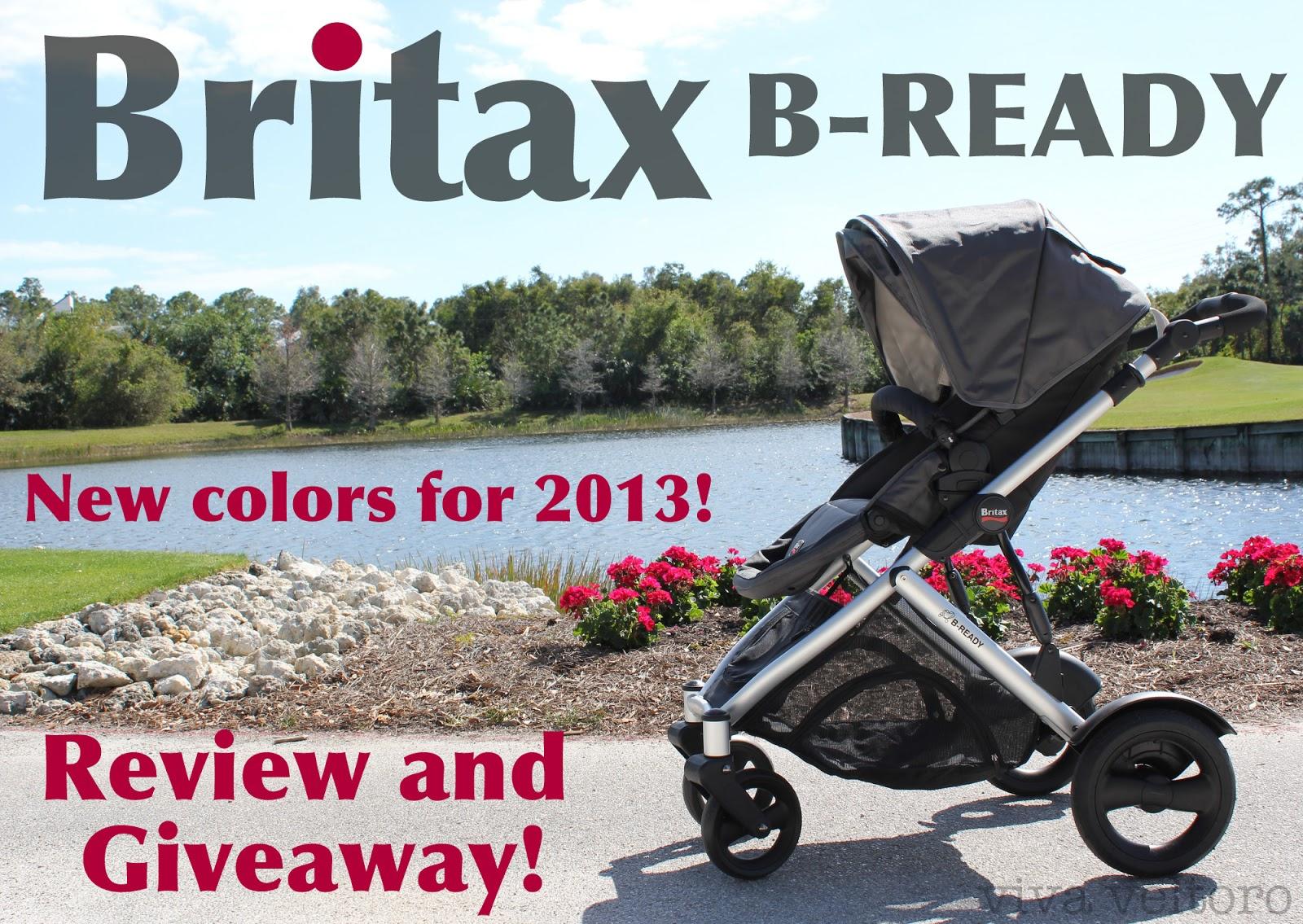 Britax B-Ready Stroller & Britax B-Ready Stroller Review! - Viva Veltoro