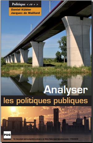 Livre : Analyser les politiques publiques - Jacques de Maillard PDF