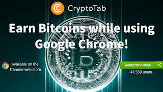 CryptoTab-Earn Bitcoins while using Google Chrome!