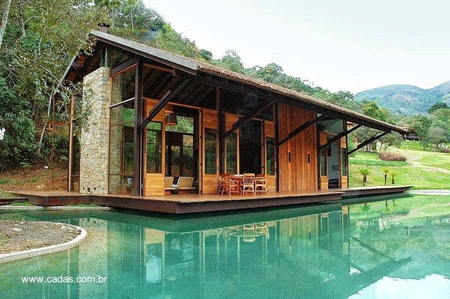 Casa anexa a una residencia vacacional en Itaipava Brasil