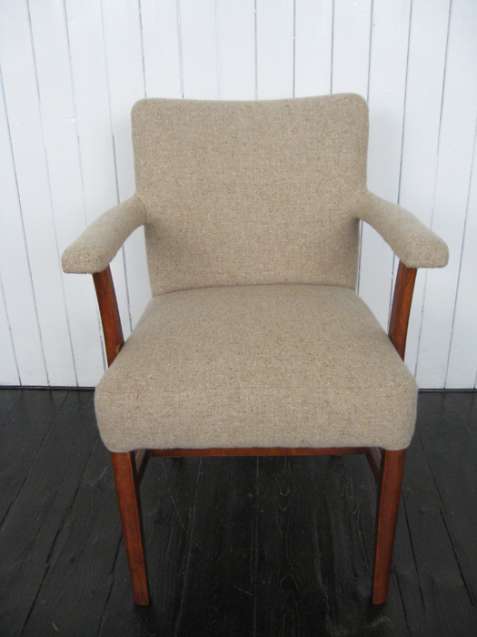 Mick Sheridan Upholstery Small Armchair In Bute Wool