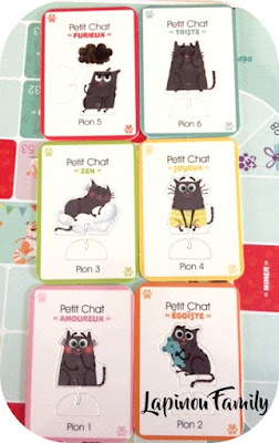jeu emotions petit chat