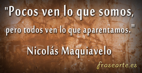 imágenes con frases de Nicolás Maquiavelo