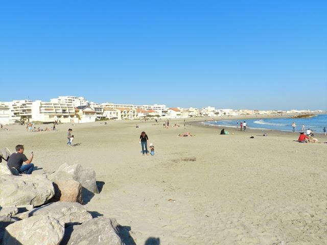 spiaggia carnon montpellier