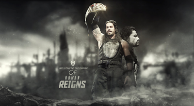 WWE Champion Roman Reigns Wallpaper