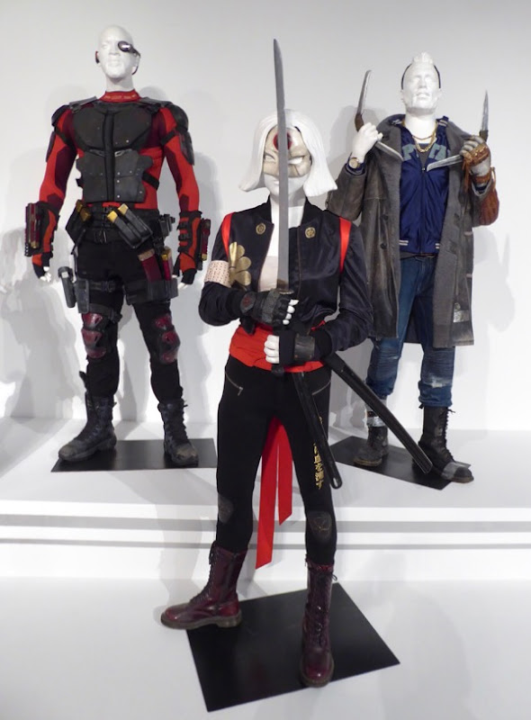 Deadshot Katana Boomerang Suicide Squad movie costumes
