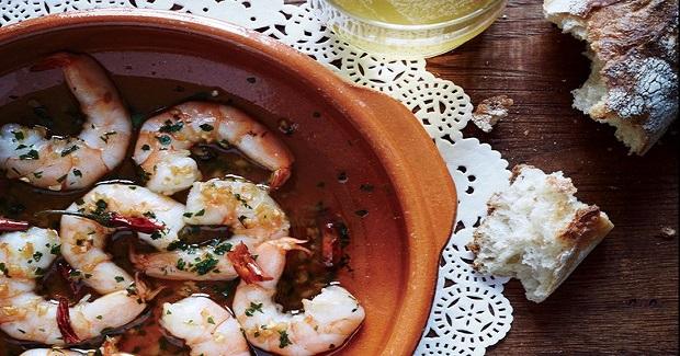 Garlic Shrimp With Chiles De Arbol Recipe
