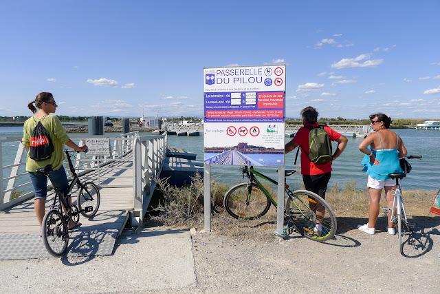 De Paris à Narbonne en vélo, Passerelle du Pilou