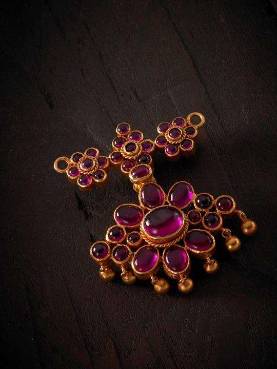 Indian Jewellery and Clothing: Beautiful silver temple ...  Davanam