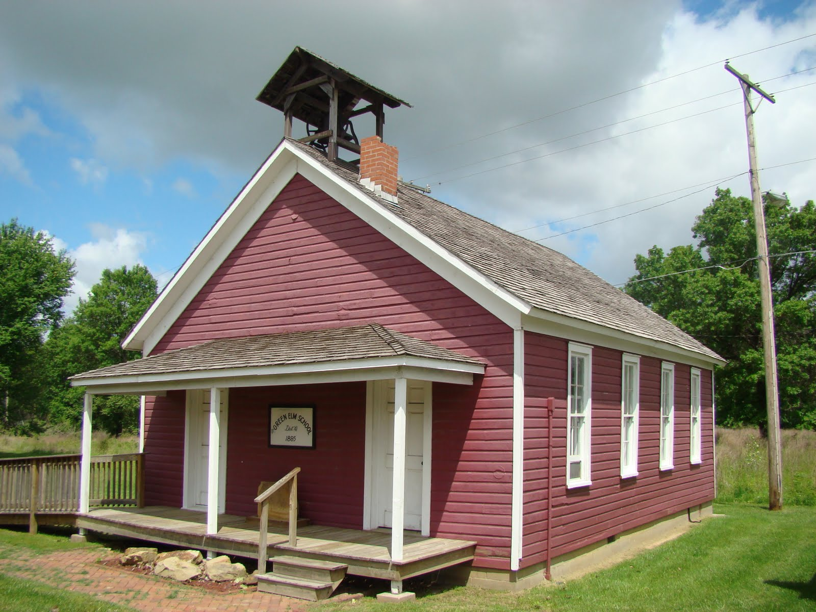 Kansas One Room Schoolhouses Green Elm School District