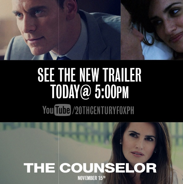 The Counselor latest trailer debut