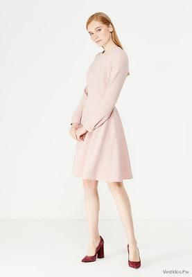Vestidos Color Rosado Pastel