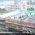 شاهد/ كارثة| انهيار مروع لمبنى قيد الانشاء اثناء قيام العمال بصب الإسمنت على السقف!