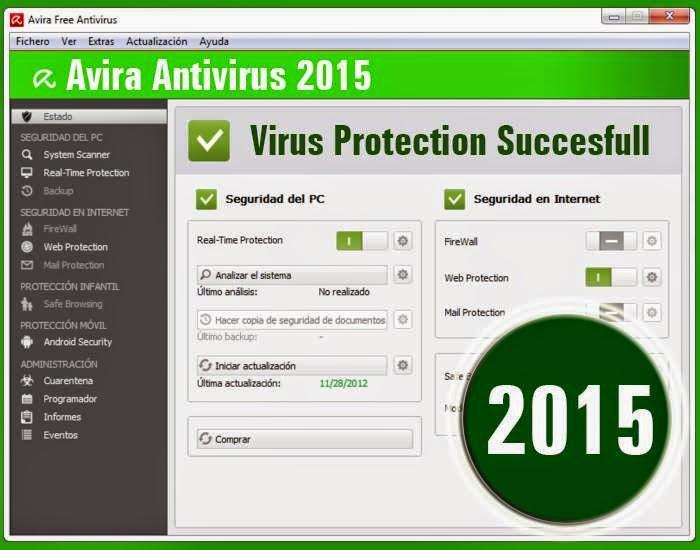 تحميل برنامج افيرا انتى فايروس مجانا Avira antivirus