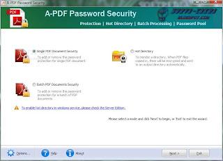 A-PDF Password Security Keygen Crack Serial