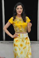 Richa Panai in Yellow Slim Fit Crop top ~ CelebxNext 012.JPG