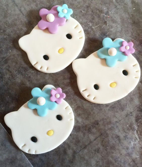 mainan clay hello kitty
