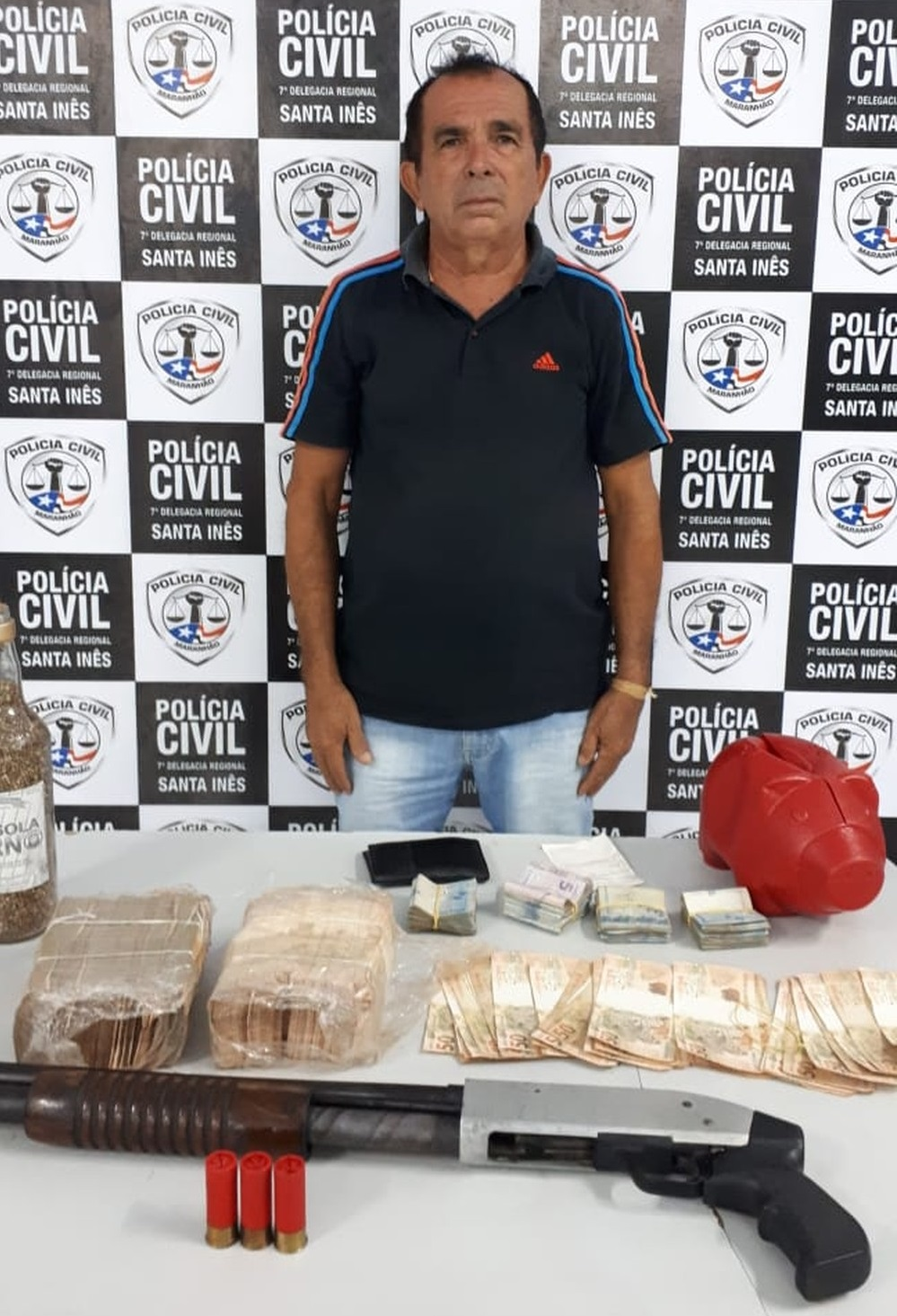 Polícia prende empresário possivelmente envolvimedo em roubo a banco no MA