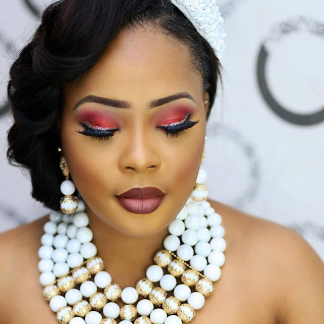 Face Of CandyCity Nigeria 2016,Queen Nneke Somto Stuns In Traditional Wedding Beauty Shots