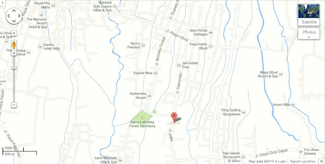 Pura Dalem Bentuyung Temple Ubud Location Map,Location Map of Pura Dalem Bentuyung Temple Ubud,Pura Dalem Bentuyung Temple Ubud Accommodation Destinations Attractions Hotels Map Photos Pictures