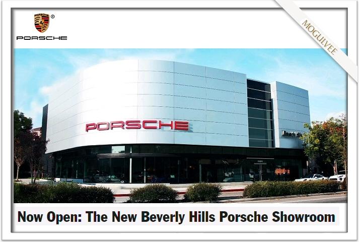 Porsche's New Showroom in Beverly Hills Now Open