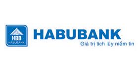 Logo ngân hàng HABUBANK vector