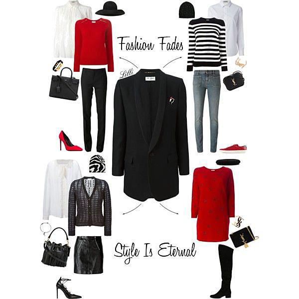 Saint Laurent Iconic Smoking Jacket - Lilli Candy and Style Fashion Blog
