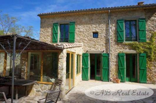 Attractive stone property, Property of the month, For Sale in Narbonne area