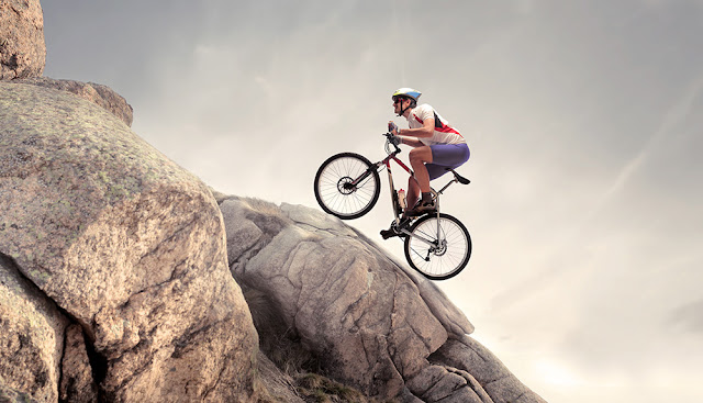 Climb Steep Hills While Cycling