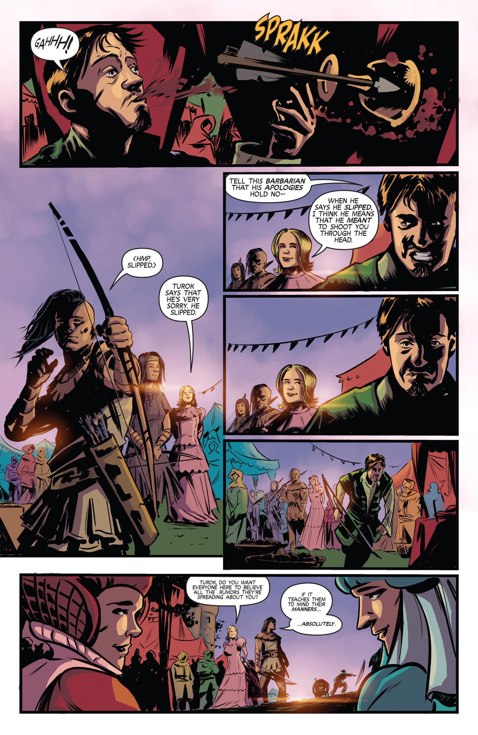 Read online Turok: Dinosaur Hunter (2014) comic -  Issue # _TPB 3 - 35