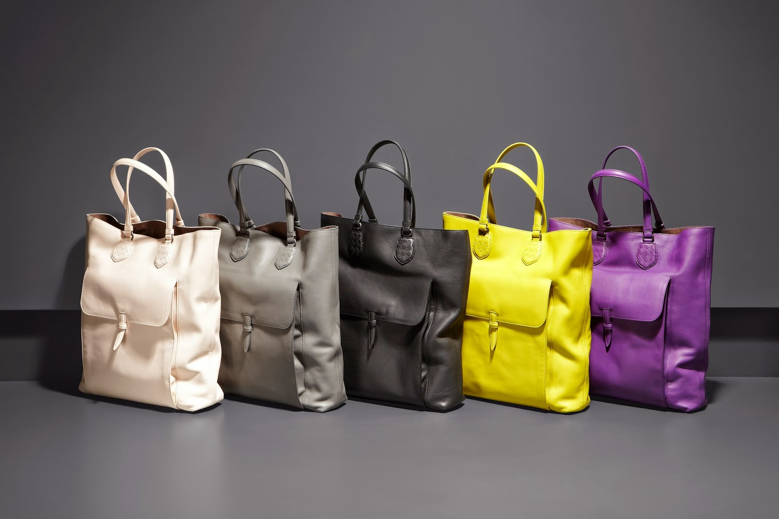 Bottega Veneta's Drap Calf Tote for Fall/Winter 14
