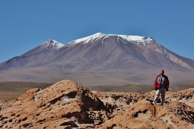 Puca Loma e Cerro Tapaquillcha, no Altiplano andino da Bolívia