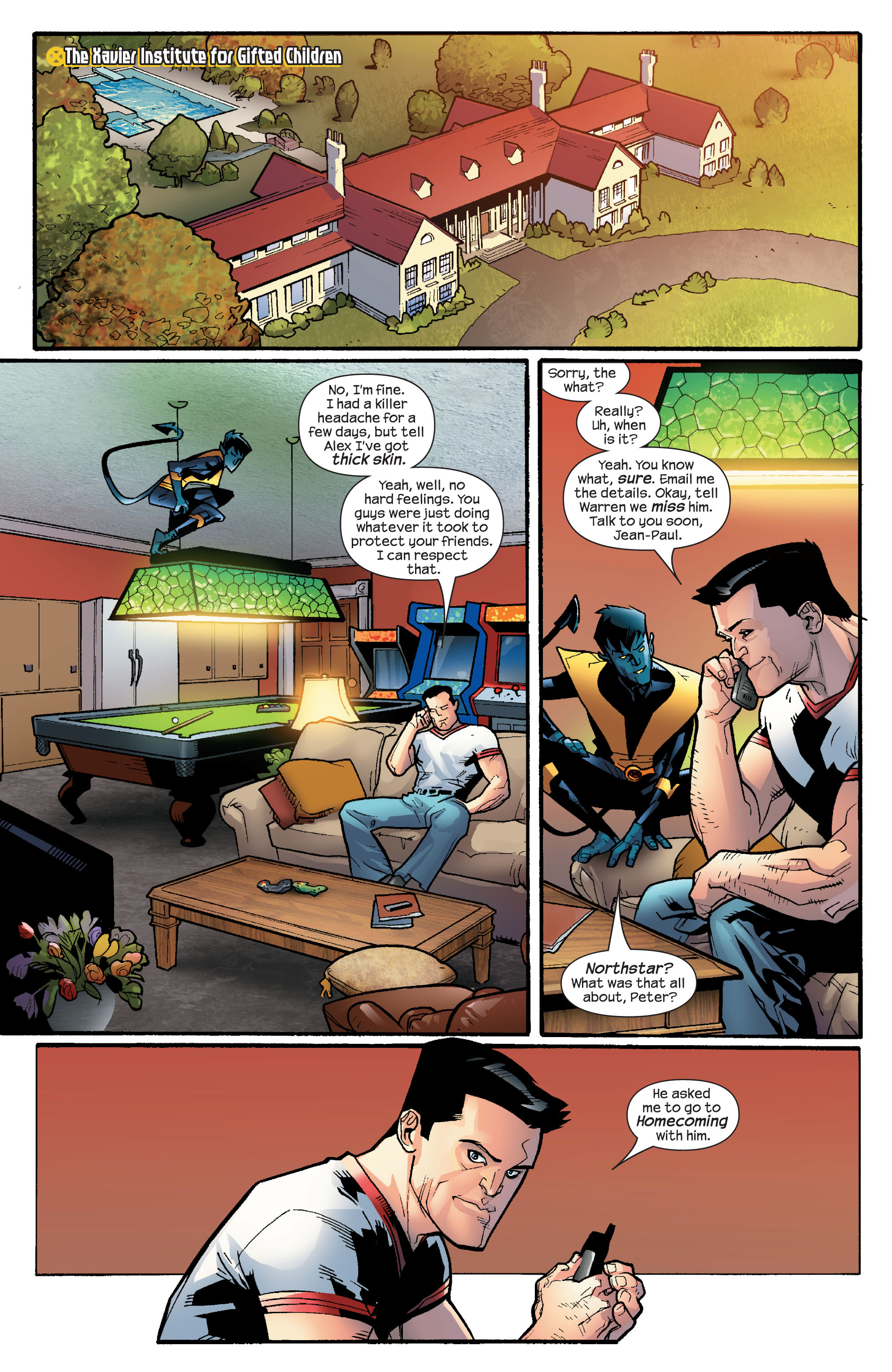 Read online Ultimate X-Men comic -  Issue #65 - 20
