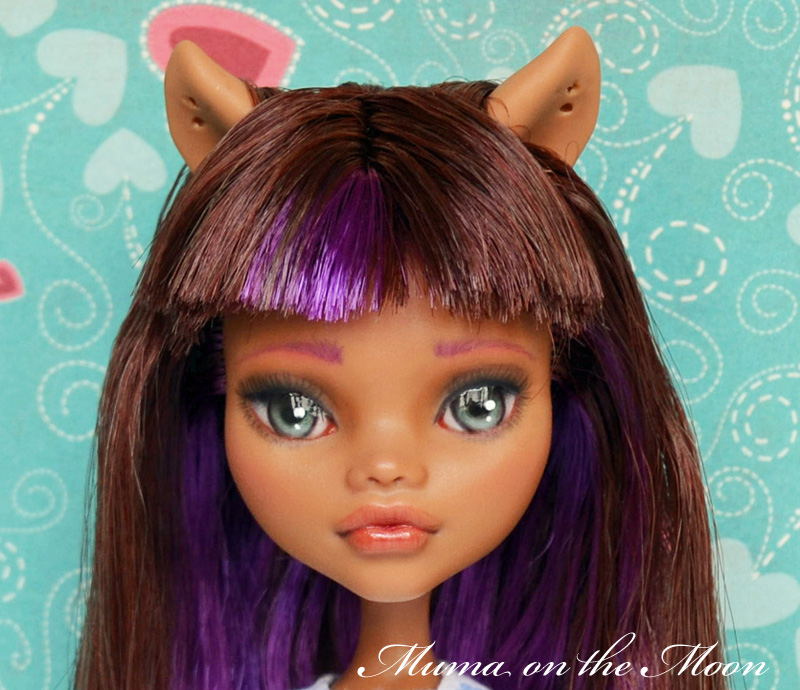 Clawdeen wolf repainting