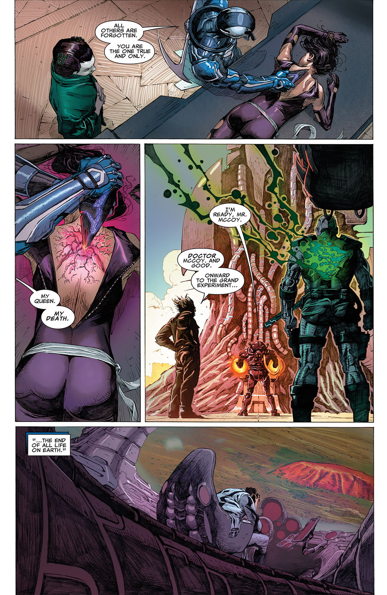 Read online Uncanny X-Force (2010) comic -  Issue #16 - 22