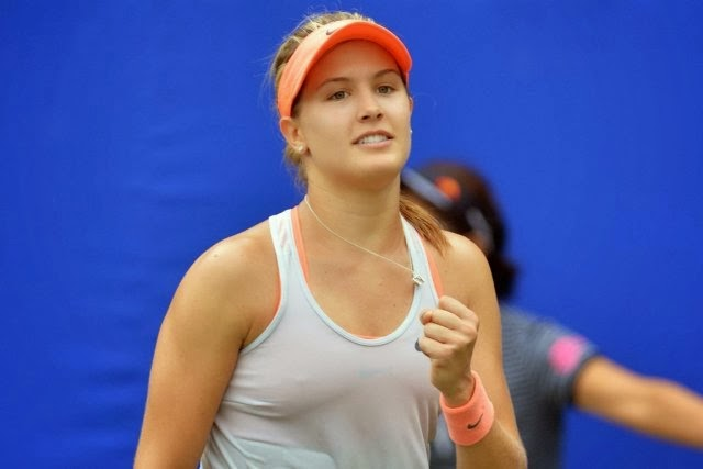 Tennis Players A2Z Eugenie Bouchard Canada Cute Tennis -4131