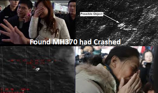 Found MH370 had Crashed in the Southern Indian Ocean no one Survived.