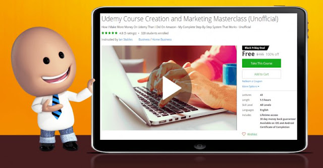 [100% Off] Udemy Course Creation and Marketing Masterclass (Unofficial)| Worth 195$