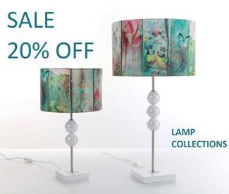 LAMP COLLECTIONS - SALE 20% OFF