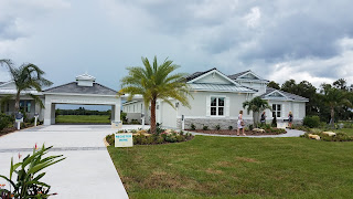 Hampton Lakes Sarasota model home