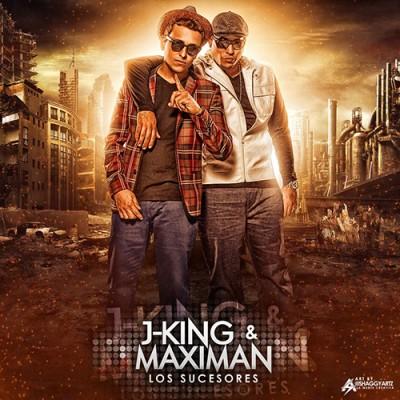 Foto de J-King y Maximan en portada de disco