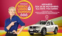 Promoção Renault 2016 Xuxa Girou Ligou Ganhou