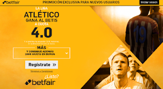 betfair supercuota 4 Atletico gana Betis Liga 14 enero