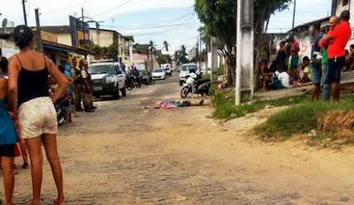 BAHIA: Proprietário de loja e sócio reagem a assalto e mata um bandido, mas acabam morrendo em troca de tiros