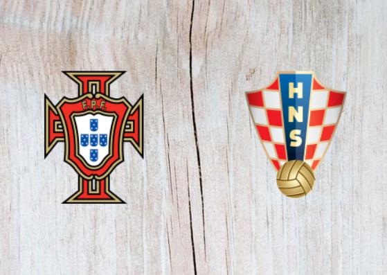 Portugal vs Croatia Full Match & Highlights 06 September 2018