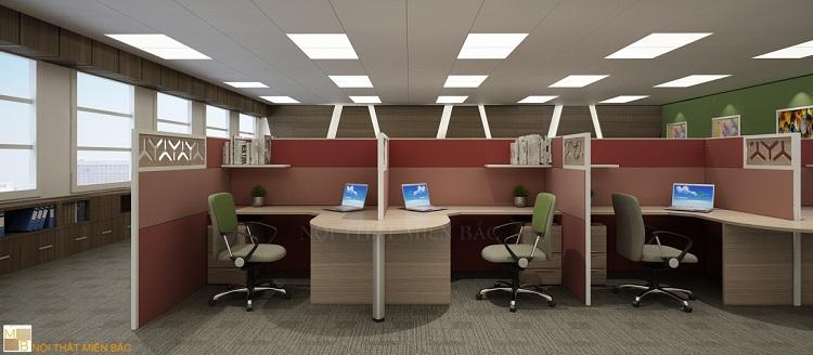 Công ty tư vấn thiết kế phòng làm việc chuyên nghiệp luôn có thương hiệu riêng